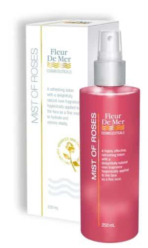Fleur de Mer - MIST OF ROSES - Fine mist spray toner for all skin types